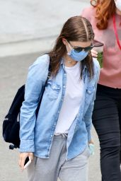 "Kate Mara - Arrives to the Set of ""A Teacher"" in Los Angeles 08/04/2020"