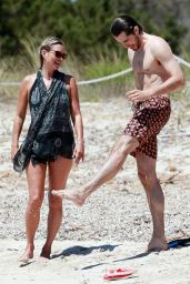 Kate Moss in a Swimsuit on the Beach in Formentera 08/09/2020