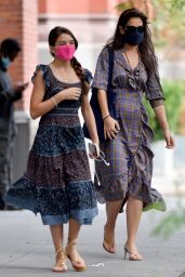 Katie Holmes and Suri Cruise - Out in NYC 08/23/2020