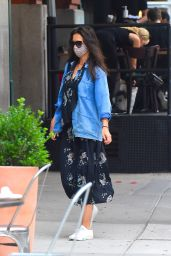 Katie Holmes - Out for Dinner in Manhattan 08/14/2020