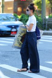 Katie Holmes - Out in New York 08/01/2020