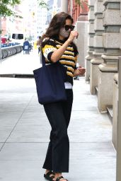 Katie Holmes Outfit - NYC 07/31/2020