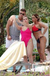 Katie Price in a Designer Bikini - Relaxing Poolside in Turkey 07/29/2020