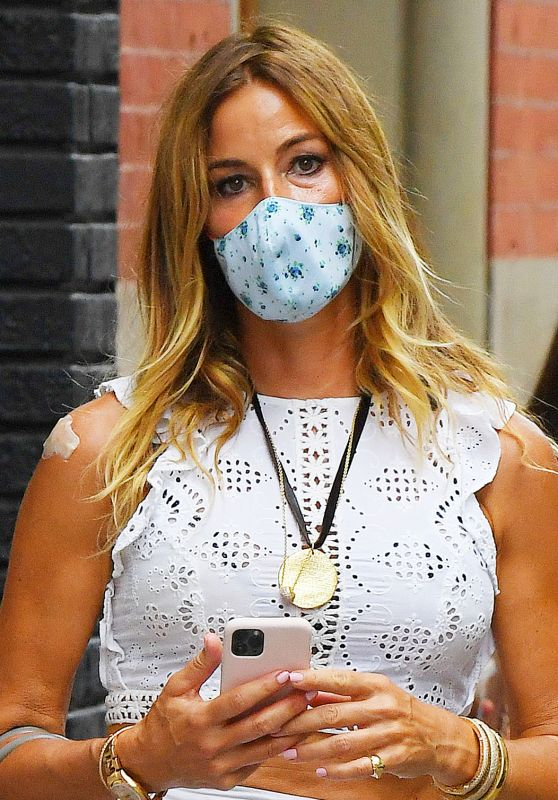 Kelly Bensimon - Out in SoHo, NYC 07/31/2020