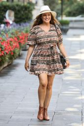 Kelly Brook - Out in London 08/10/2020