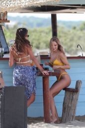 Kimberley Garner on Pampelonne Beach in Saint-Tropez 08/05/2020