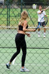 Kimberley Garner Playing Tennis - The King