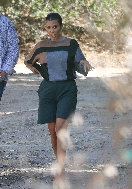 Kourtney Kardashian - Check Out a Property in Malibu 08/27/2020
