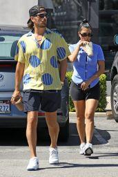 Kourtney Kardashian With Scott Disick in Malibu 07/31/2020