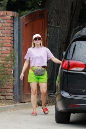 Kristen Bell - Out in Los Feliz 08/23/2020