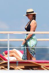 Laurene Powell - Holidays Aboard Her Mega Yacht Venus in Cannes 07/28/2020