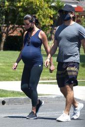 Lea Michele - Out For a Walk in Santa Monica 08/08/2020
