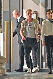 Lucy Boynton - Leaving a Restaurant in London 08/21/2020