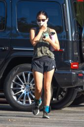 Lucy Hale - Going For a Hike in Studio City 08/24/2020
