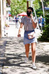 Lucy Hale Summer Street Style - LA 08/11/2020