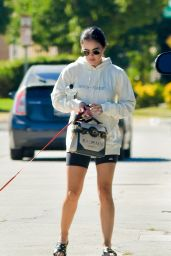 Lucy Hale - Visits a Friend in Studio City 08/29/2020