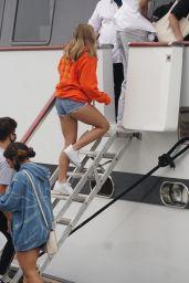 Mackenzie Ziegler and Kailand Morris - Boarding a Boat in Marina Del Rey 08/24/2020