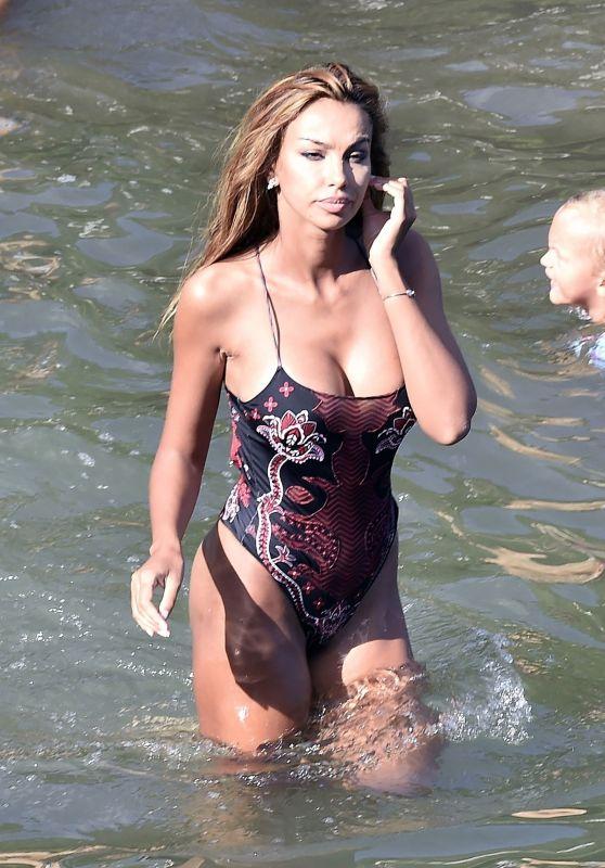 Madalina Ghenea in a Swimsuit - Holiday in Portofino 08/19/2020