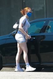 Madelaine Petsch Booty in Shorts - Studio City 08/02/2020