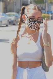 Madison Beer - Out For Lunch at IL Pastaio in Beverly Hills 08/11/2020