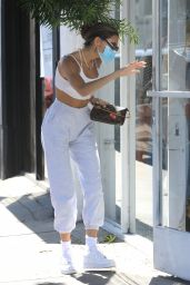 Madison Beer - Shopping on Melrose Place in West Hollywood 08/07/2020