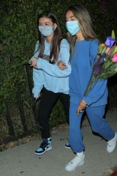 Madison Beer With Friends Out in West Hollywood 08/06/2020