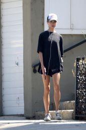 Margaret Qualley - Jogging in LA 08/04/2020