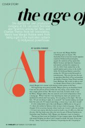 Margot Robbie - Fairlady Magazine September/October 2020