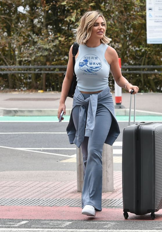 Megan Barton Hanson - Arriving at Stansted Airport 08/06/2020