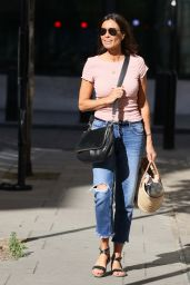 Melanie Sykes - Arriving at Wogan House in London 08/01/2020
