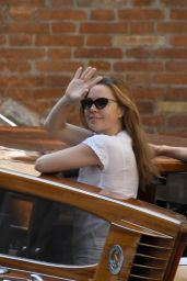 Melissa George - Out in Venice in Italy 07/30/2020