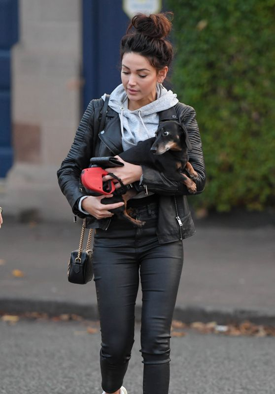 Michelle Keegan - Out in Hale, Cheshire 07/30/2020