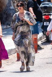 Monica Bellucci - Out in Paros Island in Greece 08/07/2020