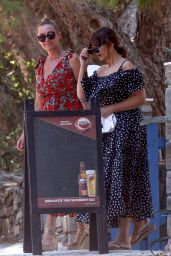 Monica Bellucci - Out in the Paros Islands 08/03/2020