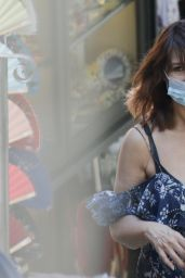 Monica Bellucci - Shopping in Bellagio 07/27/2020