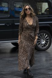Myleene Klass - Arriving at Global Radio in London 08/28/2020