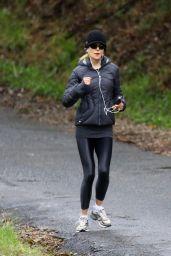Nicole Kidman - Morning Run in Byron Bay 08/15/2020