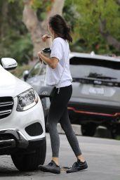 Nina Dobrev - Leaving Her House in Los Angeles 08/05/2020