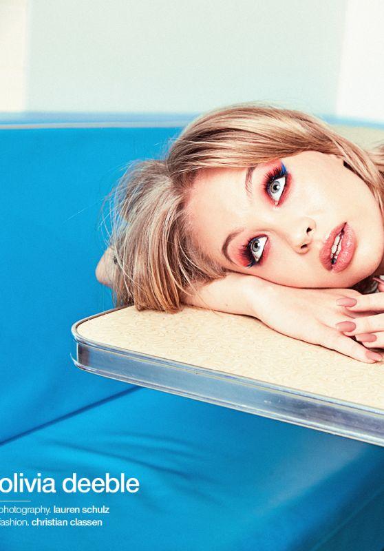 Olivia Deeble - Photoshoot for Schön! Magazine August 2020