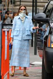 Olivia Palermo Looks Stylish - Leaves a Business Meeting in Manhattan 08/08/2020