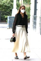 Olivia Palermo - Out in NYC 08/17/2020