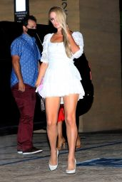 Paris Hilton Night Out Style - Nobu in Malibu 08/29/2020