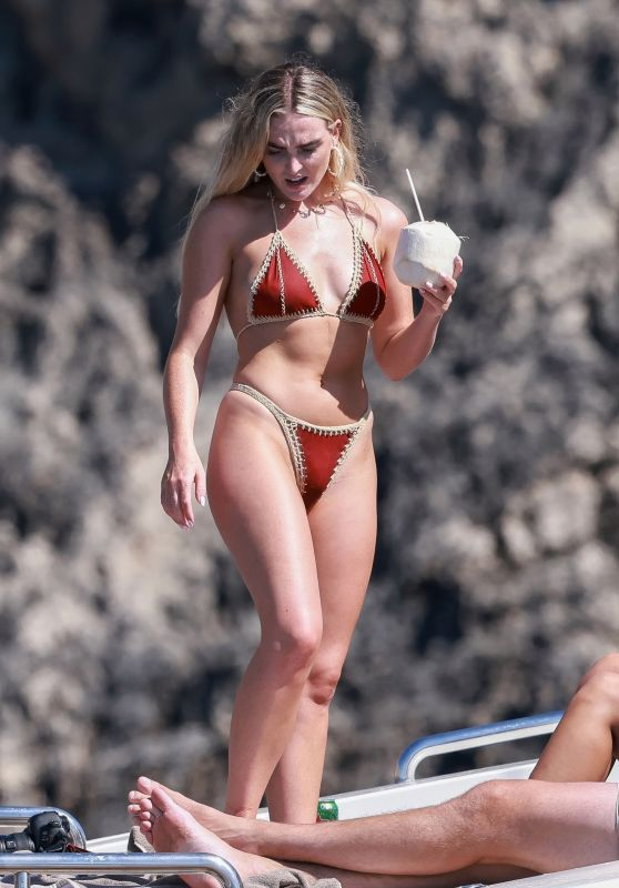 Perrie Edwards on a Holiday in Ibiza 08/08/2020