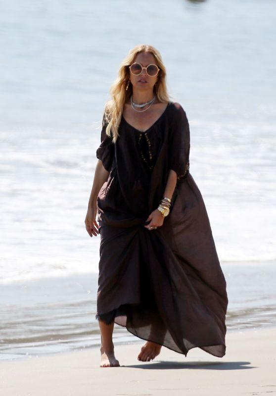 Rachel Zoe - Beach in Santa Barbara 08/30/2020