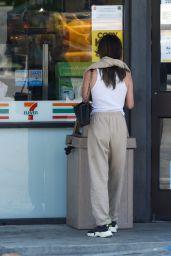 Rainey Qualley at 7-Eleven in LA 07/30/2020