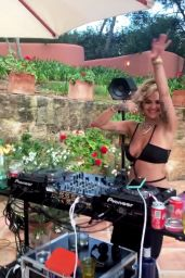 Rita Ora - Birthday Party in Ibiza 08/04/2020