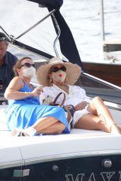 Rita Ora - Out in Capri 08/30/2020