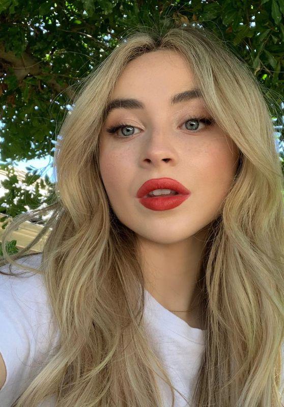 Sabrina Carpenter - Social Media Photos 08/10/2020