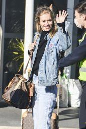 Samara Weaving - Leaving a Hotel Quarantine to Begin Filming Her New Show in Sydney 08/07/2020