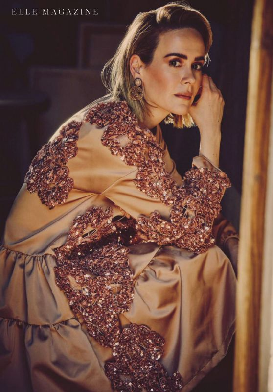 Sarah Paulson - ELLE Spain September 2020 Issue